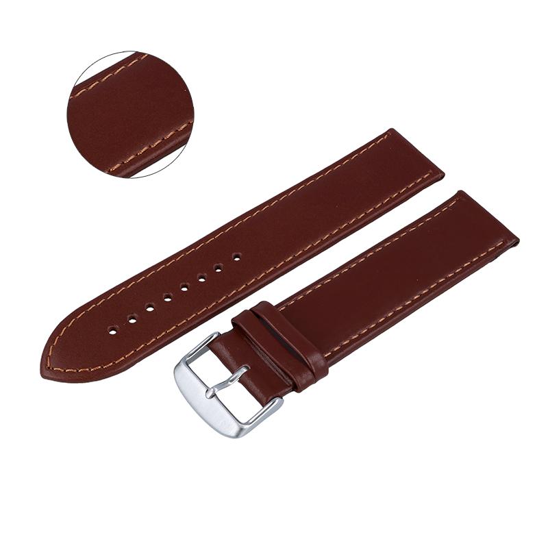 Pasek do zegarka długi 24mm XXL brązowy