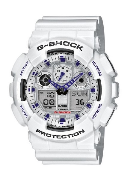 Zegarek Casio G-Shock GA-100A-7AER